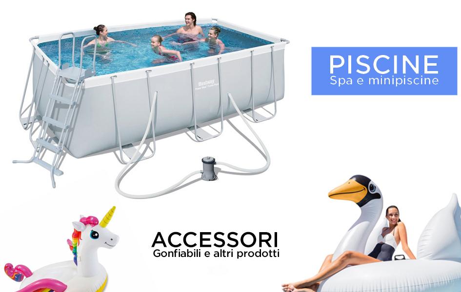Gloria store arredo giardino piscine barbecue for Store arredo