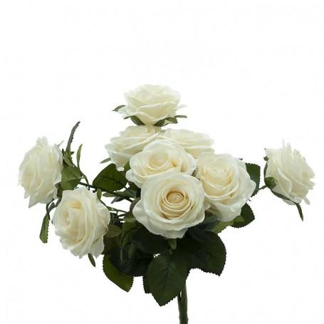 Bouquet di Rose Bianche 45 cm