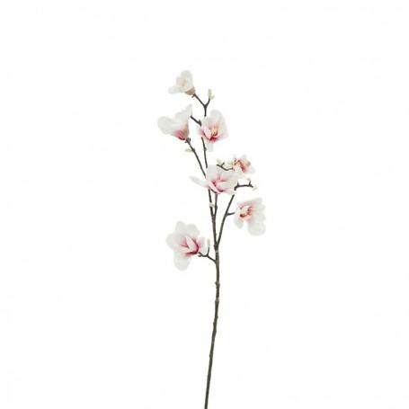 Ramo di 5 Magnolie Bianche D.15xH.95 cm