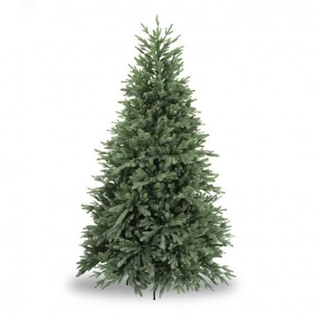Albero di Natale Abete Verde in Pe H.180/240 cm Apertura ad Ombrello - Deluxe