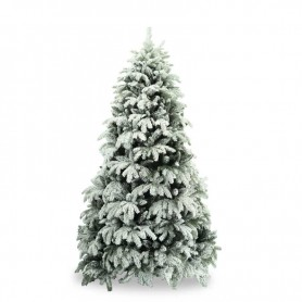 Albero Di Natale H 240.Alberi Innevati