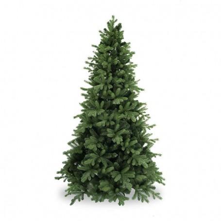 Albero Abete Verde con Rami Sporgenti in Pe+Pvc H.150/240 cm - Washington