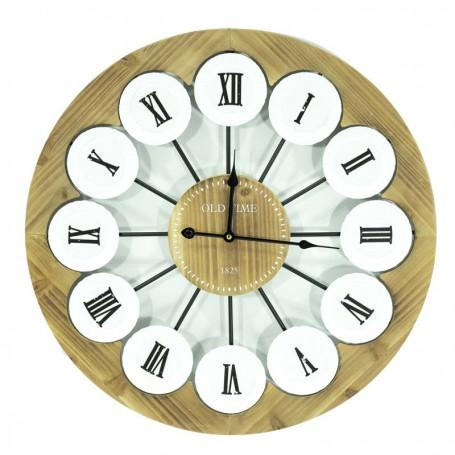 Orologio in Legno Intagliato D.58 cm