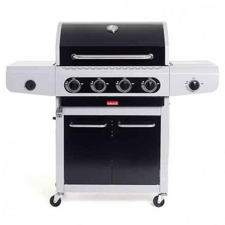 Barbecue a Gas Siesta 412 Black - Barbecook