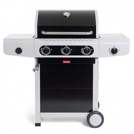 Barbecue a Gas Siesta 310 Black - Barbecook