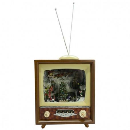 Tv con Villaggio in Movimento H.41 cm 2 Versioni