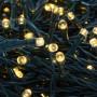 Catena Memory Control con 1000 Luci Led Bianco Caldo con Cavo Verde