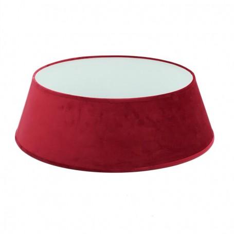 Copribase per Alberi di Natale in Velluto Rosso H.22 cm