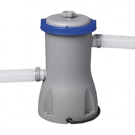 Pompa Filtro a Cartuccia Tipo II Bestway 58386 - Flusso Acqua 3.028 l/h - Flusso Sistema 2.195 l/h