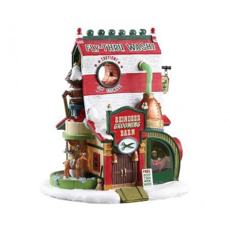 Reindeer Grooming Barn - 75293 Lemax