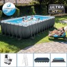 Ultra XTR Frame 732x366x132cm con pompa filtro a sabbia - intex