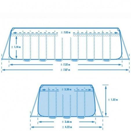 Risultato immagini per intex piscina 26364