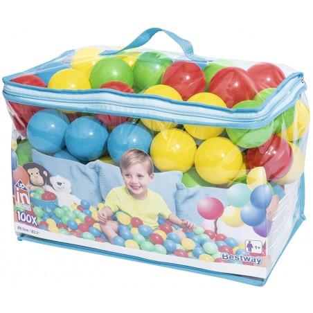 Sacca 100 palline colorate - Bestway