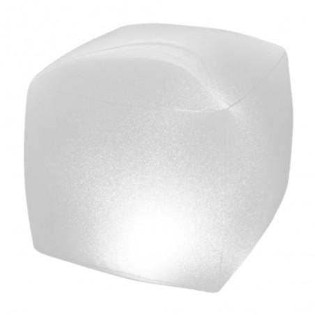 Cubo galleggiante luminoso multicolor 23x23 cm - Intex