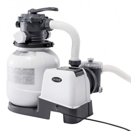 Intex 26646 Filtro a Sabbia - Flusso Sistema: 6.000 l/h, Flusso Acqua: 7.900 l/h