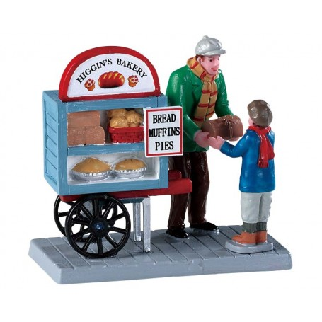 Delivery Bread Cart - 92749 lemax