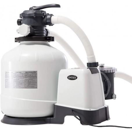Intex 26652 Filtro a Sabbia - Flusso Sistema: 9.200 l/h, Flusso Acqua: 12.000 l/h